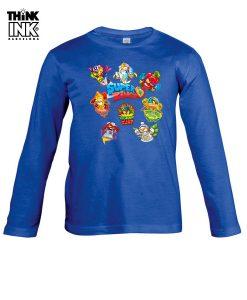 Camiseta manga Larga Superzings Grupo