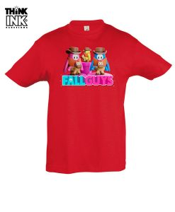 Camiseta manga corta Fall Guys a caballo