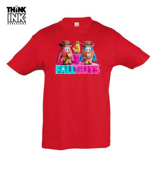 Camiseta manga corta Fall Guys a caballo
