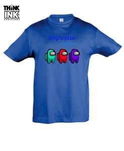 Camiseta manga corta Among Us impostor