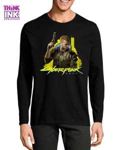 Camiseta manga larga Cyberpunk 2077