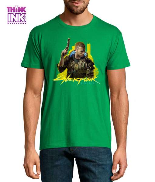 Camiseta manga corta Cyberpunk 2077