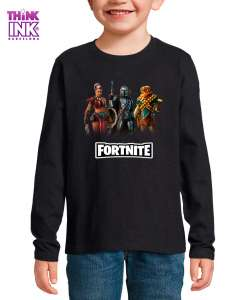 Camiseta manga Larga Fortnite temporada 5