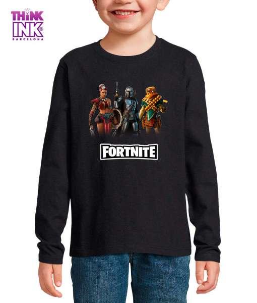 Camiseta manga Larga Fortnite temporada 5