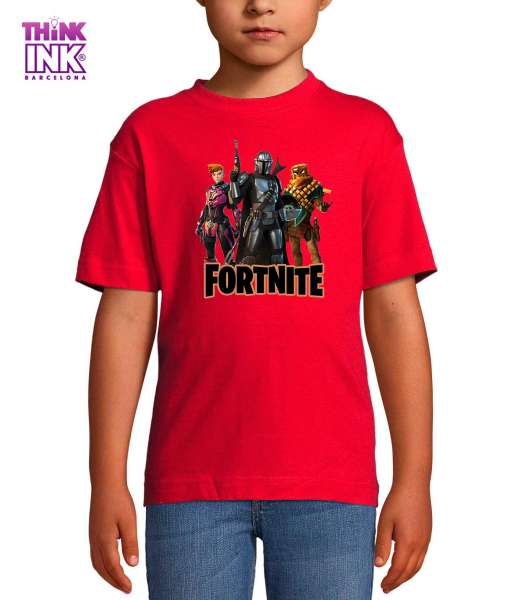 Camiseta manga corta Fortnite 5