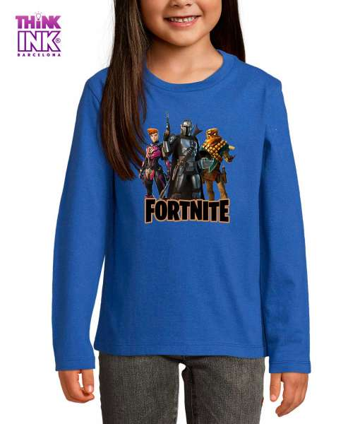 Camiseta manga Larga Fortnite 5