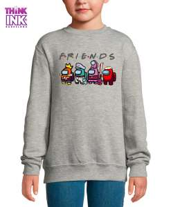 Sudadera Among Us Friends