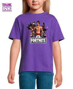 Camiseta manga corta Fortnite temporada 6