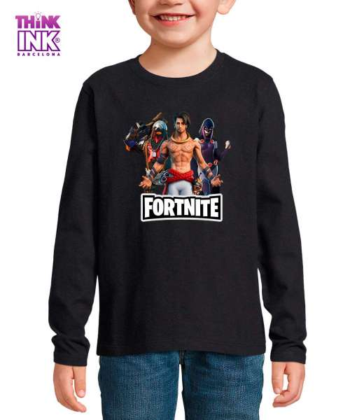 Camiseta manga Larga Fortnite temporada 6