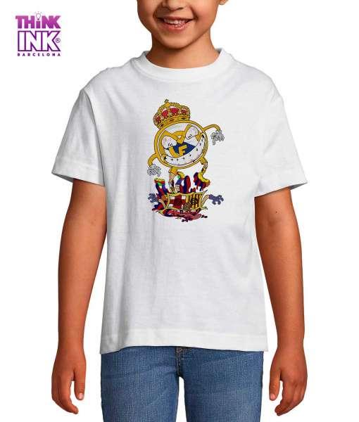 Camiseta manga corta Madrid Barça