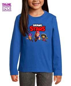 Camiseta manga Larga Brawl Stars grupo