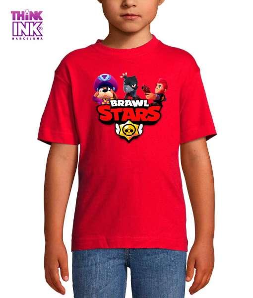 Camiseta manga corta Brawl Stars