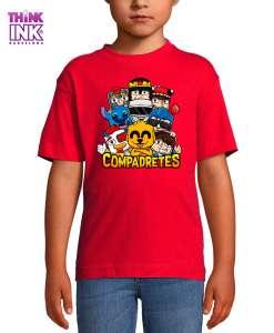 Camiseta manga corta Compadretes