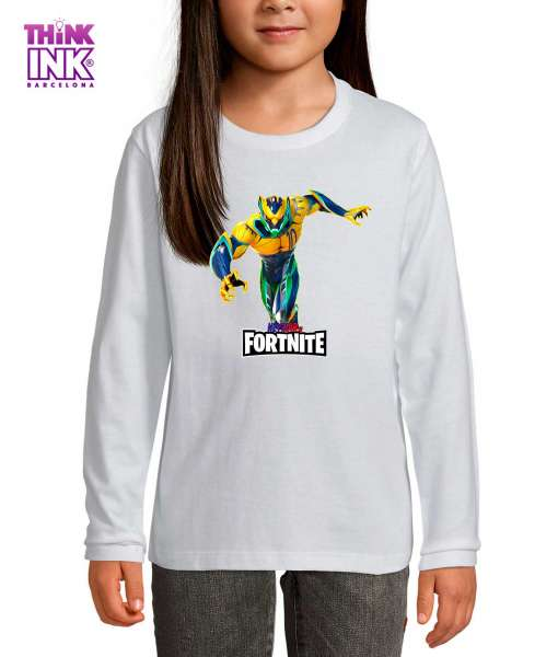 Camiseta manga Larga Fortnite Neymar JR