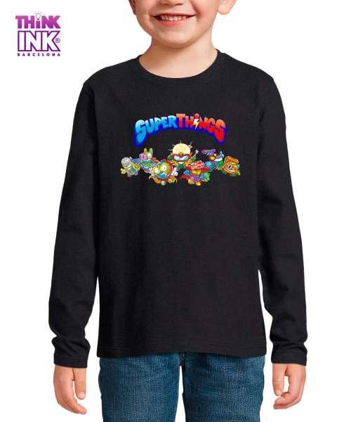 Camiseta manga Larga Superthings