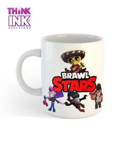 Taza Brawl Stars personajes