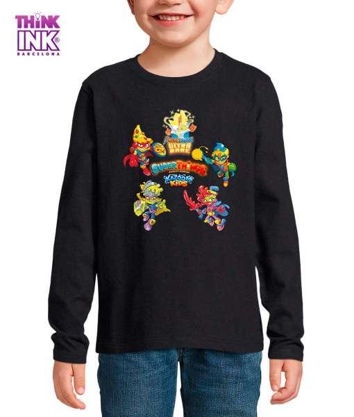 Camiseta manga Larga Superthings Kazoom Kids