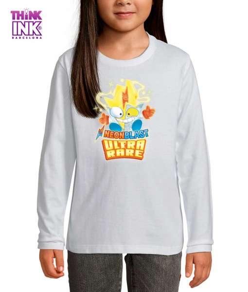 Camiseta manga Larga Superthings Neon